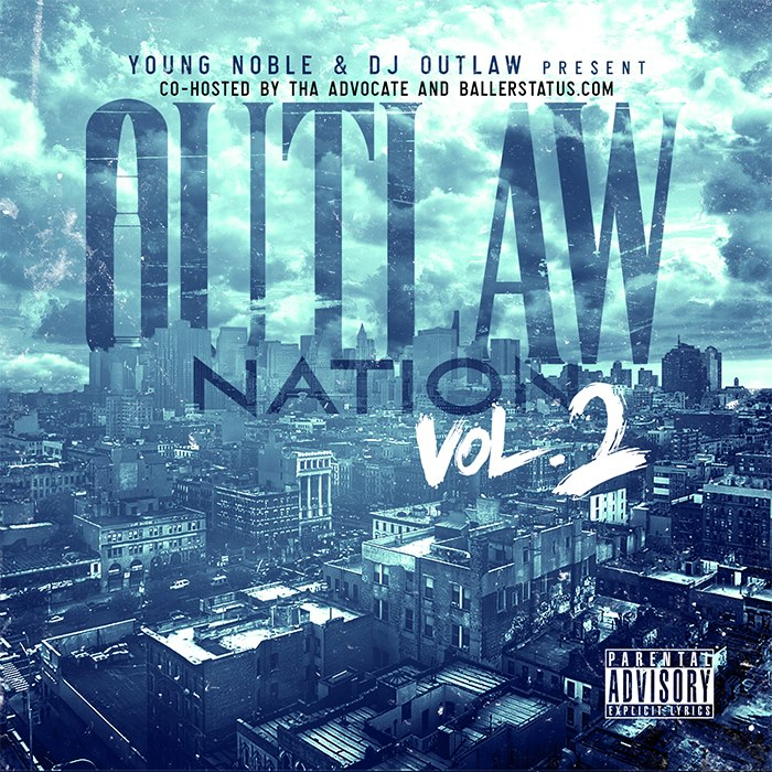 Outlaw Nation 2 Young Noble - Outta My Mind (feat. Bonze Roc, Phaze Ali Con & Forever Young)